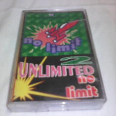 CASETA AUDIO 2 UNLIMITED-NO LIMIT RARITATE!!!! - Muzica Dance, Casete audio