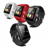 Ceas Inteligent U8, SmartWatch Bluetooth, Alte materiale, Android Wear, Apple Watch