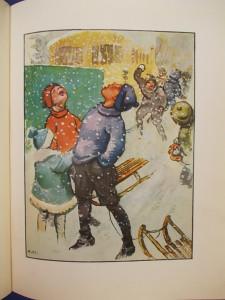 CARTE VECHE COPII IN GERMANA / MEIN LIEBSTES BUCH * ILUSTRATII WILLY PLANK -1930