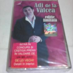 CASETA AUDIO MANELE ADI DE LA VALCEA EDITIE LIMITATA ORIGINALA NOUA SIGILATA - Muzica Lautareasca, Casete audio