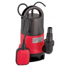070106-Pompa submersibila cu plutitor pentru ape uzate 400 W Raider Power Tools - Pompa gradina Raider Power Tools, Pompe submersibile, de drenaj