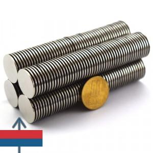 Magnet neodim puternic disc 20x1 mm neodymium ndfeb