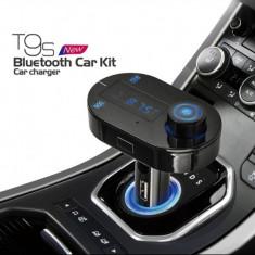 Carkit bluetooth, modulator FM, model T9S, iPhone 6