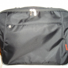 Geanta laptop TOSHIBA EASY GUARD, Geanta de umar, Peste 18, Panza, Negru