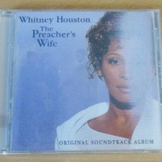 Whitney Houston - Preacher's Wife Soundtrack CD (coperta cu holograma) - Muzica R&B arista