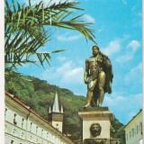 Bnk cp Baile Herculane - Statuia lui Hercule - necirculata - marca fixa - Carte Postala Banat dupa 1918, Printata
