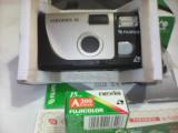 APARAT FOTO FUJIFILM FOTONEX 10 NEFOLOSIT +FILM IN AMBALAJ ORIGINAL RARITATE!!!