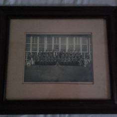 Poza fanfara militara Germania Nazista 100% autentica WW2 Hitler 1942 stampila - Fotografie veche