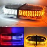 Bara Rampa girofare cu LED-uri 12v/24v lumina rosu/albastru COD: 101A