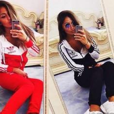 Trening adidas new young dama model excelent 2017 - Trening dama Adidas, Marime: S, M, L, XL, XXL, Culoare: Albastru, Bleumarin, Negru, Rosu, Bumbac