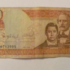 CY - 100 pesos 2006 Republica Dominicana - bancnota america