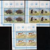 LESOTHO 1981 WWF ANIMALE SALBATICE COTA MICHEL 88 EURO (2 FOTO) - Timbre straine, Nestampilat
