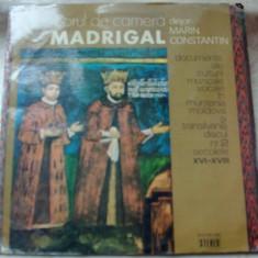 LP: CORUL MADRIGAL-DOCUMENTE ALE CULTURII MUZICALE VOCALE IN ROMANIA/VOL.2(1977) - Muzica Corala, VINIL