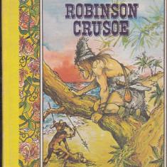 DANIEL DEFOE - ROBINSON CRUSOE ( IN FRANCEZA ) - Carte de povesti