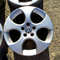 JANTE ORIGINALE VW 17 5X112 - Janta aliaj Volkswagen, Numar prezoane: 5
