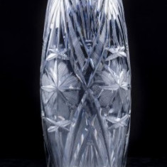Vaza din cristal (8), h x di : 20, 5 x 6 cm - Vaza sticla