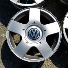 JANTE ORIGINALE VW 15 5X100 - Janta aliaj Volkswagen, 6, 5, Numar prezoane: 5