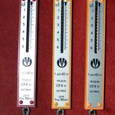cântare de mână, 0,3 - 6 kg