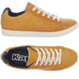 42_Adidasi originali barbati KAPPA_panza_cu piele_in cutie, 42, Orange, Textil, Kappa