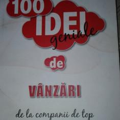 100 idei geniale de vanzari Patrick Forsyth - Carte de vanzari
