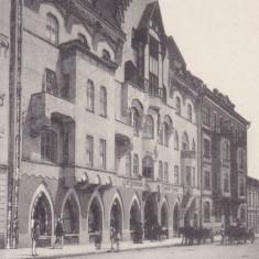 BUCOVINA, CERNAUTI, CASA GERMANA, EDITURA MORITZ GOTTLIEB BUCHHANDLUNG - Carte Postala Bucovina dupa 1918, Necirculata, Printata