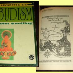 Elemente de Budism - John Smelling, ilustratii, RAO 1997