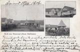 SALUTARI DIN HOMOROD ( BRASOV) , CLASICA , CIRCULATA 1906, Printata