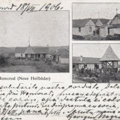 SALUTARI DIN HOMOROD ( BRASOV), CLASICA, CIRCULATA 1906 - Carte Postala Transilvania pana la 1904, Printata