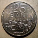 1.050 ROMANIA RSR 25 BANI 1982 XF, Aluminiu