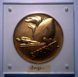 5.085 MEDALIE OLIMPIADA DE IARNA JAPONIA SAPPORO 1972 ION ZANGOR 65mm