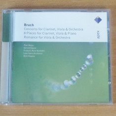 Bruch - Works for Clarinet & Viola (Paul Meyer, Gerard Causse) CD - Muzica Clasica warner