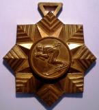 5.033 MEDALIE SPORT SCHI CAMPIONAT BALCANIC POIANA BRASOV ROMANIA 1969 71mm