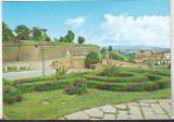Bnk cp Alba Iulia - Vedere din cetate - necirculata, Printata