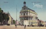 BUCOVINA , CERNAUTI , STRADA REGELE FERDINAND I  , CIRCULATA 1928, Printata