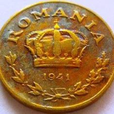 Moneda 1 Leu - ROMÂNIA, anul 1941 *cod 4232 - Moneda Romania