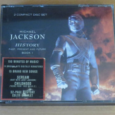 Michael Jackson - History: Past, Present and Future Book 1 2CDs - Muzica Pop sony music