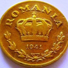 Moneda 1 Leu - ROMÂNIA, anul 1941 *cod 4233 - Moneda Romania
