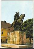 Bnk cp Alba Iulia - Statuia lui Mihai Viteazul - necirculata, Printata