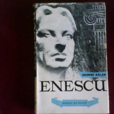George Balan Enescu, editie princeps - Carte Arta muzicala