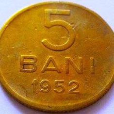 Moneda 5 Bani - ROMÂNIA, anul 1952 *cod 4237 - Moneda Romania