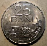 1.035 ROMANIA RSR 25 BANI 1982 XF, Aluminiu
