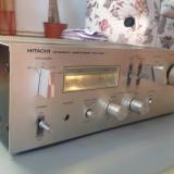 Amplificator Stereo HITACHI HA 330 - Vintage/Japan/Rar - Pt. Cunoscatori ! - Amplificator audio Hitachi, peste 200W