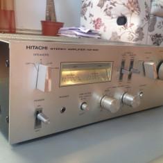 Amplificator Stereo HITACHI HA 330 - Vintage/260w/Japan/Rar - Ptr. Cunoscatori ! - Amplificator audio Hitachi, peste 200W
