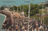 CONSTANTA , DIGUL CASINOULUI  SPRE PORT   ,  EDITURA  A. TEPOSU SI STEFAN NAPARU, Circulata, Printata