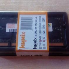 Memorie LAPTOP HYNIX 2GB DDR2 800mhz Sodimm, NOI Garantie Factura 12Luni! - Memorie RAM laptop