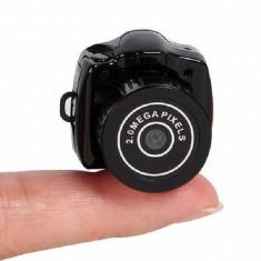 Spy Mini Camera Y2000 720P HD Webcam Video Voice Recorder - Camera spion, Breloc