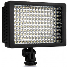Lampa LED Foto Video - 160 LED-uri pentru camera DSLR, etc - Lumini Studio foto