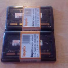 Memorie LAPTOP HYNIX 2x2GB(4GB) DDR2 800mHZ NOI GARANTIE SI FACTURA 12Luni.
