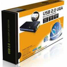 Placa video externa USB 2.0 UGA To VGA DVI HDMI sigilata - Placa de captura PC