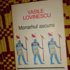 Vasile Lovinescu - Monahul ascuns an 1992/173pag - Carte Filosofie